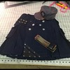 Denim and Leather kilt in dark denim with hat and belt going to IL. http://www.altkilt.com/denimleather