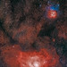 2 hours and 30 minutes on the nebulae of Sagittarius