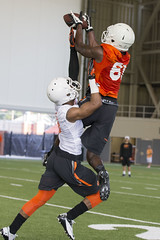 OSU Football Fall Practice, Saturday, August 2, 2014, Sherman E. Smith Training Center, Stillwater, OK (OSUAthletics) Tags: cowboys training football osu 2014 lampkin oklahomastateuniversity seales cowboyfootball fallpractice shermanesmithtrainingcenter jhajuanseales ashtonlampkin