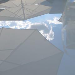 coin de ciel (catimini) Tags: parasol reflets