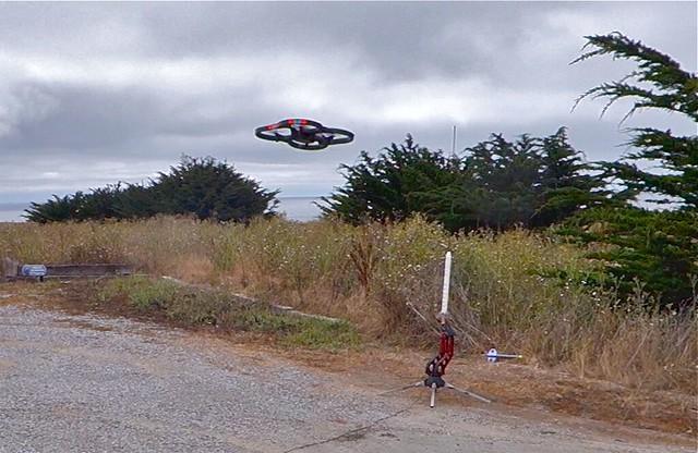 moon bay video sam half rocket vs capture hmb fail drone quadcopter