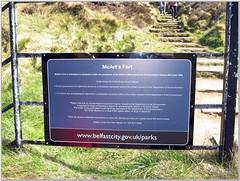 2014-04-18 Cavehill (29) (BangorArt) Tags: hiking belfast northernireland ni rath basalt cavehill devilspunchbowl ringfort belfastlough devilscauldron mcartsfort paulanderson napoleonsnose benmadigan antrimplateau bangorart manmadecaves nitourism artfrombangor bangorphotography beannmhadagain