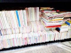 three-fifths of my kawaii collection. (JU671NE♡) Tags: cute paper sanrio kawaii stationery crux qlia fortissimo sanx kamio mindwave poolcool cramcream lemonco