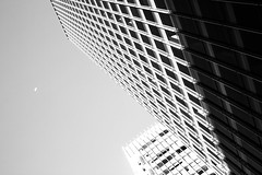 By The Light Of The Moon (Jeremy Brooks) Tags: sanfrancisco california blackandwhite bw usa moon building architecture blackwhite sanfranciscocounty