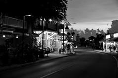 Curve in the Road (RobertJPhotos) Tags: white greek nikon florida springs tarpon tarponsprings nightstreetscene sceneblack