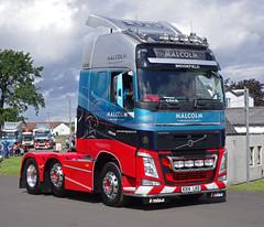 WH Malcolm Volvo FH KX14LKO at Truckfest Scotland 2014 (andyflyer) Tags: transport lorry truk haulage truckfest hgv volvofh roadhaulage whmalcolm wgaon truckfestscotland kx14lko truckfest2014 truckfestscotland2014 2014truckfest