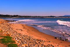 Bella Playa de Ventura. (mhisaac805) Tags: ocean california travel blue sea sky sun seascape beach nature water beauty rebel pier amazing dia explore ventura
