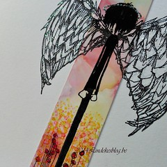 Stampotique Angel Boy detail (Lindekes All Kind Of Shades) Tags: alcoholinks stampotique