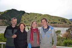 Steve, Carol, Anaïs et Christophe