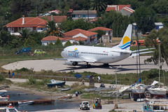 An Aviolet Boeing 737 at Skiathos (Martyn Cartledge / www.aspphotography.net) Tags: uk plane airplane greek fly flying airport europe aircraft aviation air transport flight jet aeroplane greece airline boeing runway skiathos airliner 737 martyn aerodrome b737 jsi aviolet cartledge civilairliner civilairline aspphotography skiathios wwwaspphotographynet