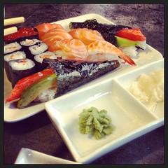 #fish #Fresh #eat #hunger #best #sushi #thuna #wasabi #ginger #green #food (Dr.RayZor) Tags: food fish green sushi ginger fresh best eat hunger wasabi thuna