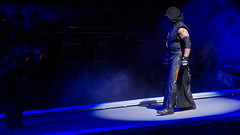 The Undertaker at Raw taping, London April 2013