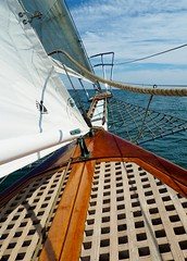 Aboard the schooner Curlew (1926) (MC.202) Tags: sailing tallship schooner curlew tallshipsfestival tallshipschallengepacificcoast