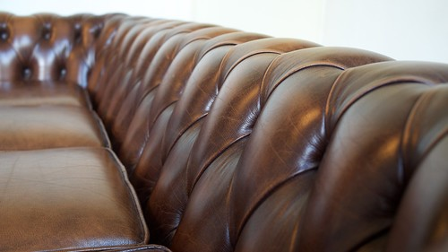 For sale: Chesterfield four seater sofa