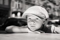 Ket (oVan) Tags: brussels portrait bw blackwhite kid sony explore brussel carlzeiss rx1