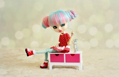 Melody [Pullip Mitzi] (Dekki) Tags: fashion asian doll melody planning groove pullip limited edition mitzi jun junplanning rewigged