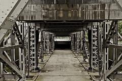 Schiffshebewerk (Isabel desde Berlin) Tags: architecture steel brandenburg industrie stahl 2014 schiffshebewerk niederfinow