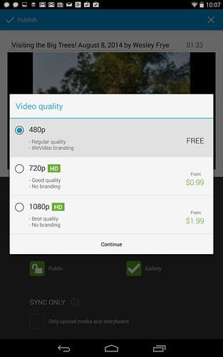 Limited WeVideo Export Resolution by Wesley Fryer, on Flickr