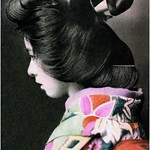 A PRETTY PROFILE FROM OLD JAPAN thumbnail
