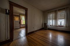 The Abandoned Courthouse (Frank C. Grace (Trig Photography)) Tags: windows abandoned unitedstates empty massachusetts telephone newengland historic courthouse woodenfloor winchendon