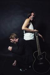 Concrete/Lotus: K&A (miriashikin) Tags: portrait music digital portraits canon studio eos promo model asia duo band indie electro acoustic macau bandpromo 550d