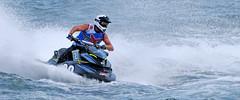 90-JetSki-Sitting 0814 7679 (Ross Elliott) Tags: sea ski water devon torquay jetski torbay p1superstock
