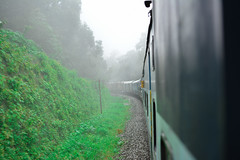 The Scenic Train Journey (dakshsharma) Tags: train goa trains railways indiantrain dudhsagarwaterfalls goaexpress