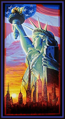 Statue of Liberty National Monument, New York (LOMO56) Tags: newyork kunst modernekunst gemälde ölgemälde zeitgenössischekunst statueoflibertynationalmonument acrylgemälde metropolenderwelt