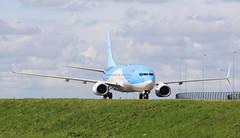 Arke Boeing 737-800 (AMSfreak17) Tags: amsterdam airport quebec boeing schiphol ams eham taxiway 737800 arke phtfa amsfreak17