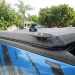 Black Diamond-Plate Bed Cover on Ford Raptor thumbnail
