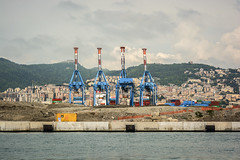 Port of Genoa. (Zen | zenfotto.com) Tags: italy genoa