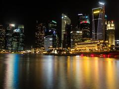 Singapore Marina at Night, Handheld Long Exposure (dedenfield) Tags: longexposure nig