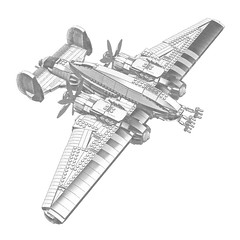 Filter Test 03 (IK) Tags: lego space aircraft ships scifi spaceships ldd