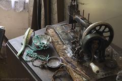 cobweb cottage (NaKed-Eye) Tags: decay cottage cobweb urbanexploration wiltshire urbex abandonedhome abandonedcottage vintagesewingmachine vintagepram derelicthome oncewashome worldinruins cobwebcoveredhome