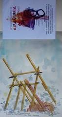 PEA EL PAUSTRE, el Palo, Mlaga. (paco tejedor) Tags: espaa ladrillo spain drawing andalucia watercolour acuarela andalusia mlaga pea andamios elpalo palustre 48concursodealbaileria