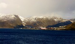 First view of Honningsvag, Norway (scarboroughcruiser) Tags: norway cunard queenvictoria honningsvåg honningsvag