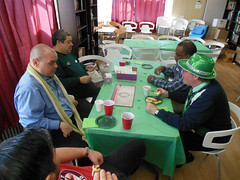 DSCN0125 (elyaqim) Tags: bear newyorkcity gay game hat scarf table spring queens jacksonheights lgbtcommunity jacksonheightsqueens newyorkbearden nikoncoolpixseries