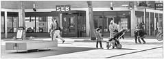 Children (Xerethra) Tags: street bw 35mm geotagged spring nikon europa europe sweden candid skandinavien may sverige scandinavia sollentuna maj vår svartvit 2013 stockholmslän nikond80 streetphotographypeople turebergstorg turebergstorgsollentunastockholmslänsverige