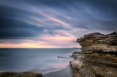 Botany Bay (Mike Hankey.) Tags: longexposure seascape sunrise published botanybay laperouse bareisland