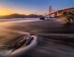 Beyond The Gate (mikeSF_) Tags: ocean sanfrancisco california bridge seascape beach mike rock landscape photography golden coast gate skies pacific pentax fair marshall marshalls presidio ggnra ggb a35 oria 645d pentax645d mikeoria