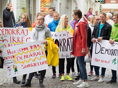 Solborg elevene i demokrati-tog