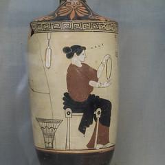 "Female Figures - IV (egisto.sani) Tags: ceramica london ceramic greek athens villa di attic pottery sicily londra ground"" giulia attica greca chiton ""white ""red gela atene saccos lekythos attico museum"" ""british ""villa bianco"" himation giulia"" figure"" painter"" ""fondo vasigreci nere"" ""rosse ""pittre"