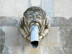 John Treadgold gargoyle (pefkosmad) Tags: uk vacation england holiday church modern sussex worship exterior cathedral weekend religion gargoyle anglican chichester waterspout churchofengland formerdean johntreadgold