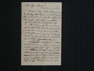 Lettere di Faustina Foglieni a Fortunato Brocca, 6 giugno 1873