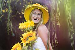 IMG_a3962 1 (TJ Boarman) Tags: portrait woman flower beauty sunshine yellow lady outdoor blonde canondslr strobist canon580 canon7d sigma85f14