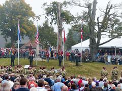 Airborne Herdenking bij het Airborne monument #Margetgarden2014 #Airborne_2014