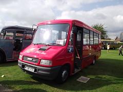 M736VSC (Royal Mail Post Bus) 21-09-2014 Duxford Showbus.1 (routemaster2217) Tags: duxford imperialwarmuseum iwm showbus2014