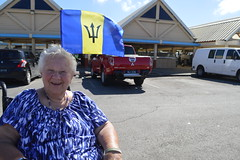 Theresa Irene Wolowski, visiting the Ministry of Agriculture Bridgetown Public Market in Barbados (RYANISLAND) Tags: blue beach yellow island islands 14 country tropical tropicalisland barbados tropic caribbean bridgetown lesser tropics bearded antilles sovereign 2014 caribbeansea barbadian blueandyellow caribbeanisland lesserantilles bridgetownbarbados barbadians barbadosbridgetown thebeardedones portofbridgetown sovereignislandcountry