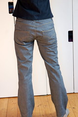 Jeans_back1 (Two_tango) Tags: jeans denim pants trousers hose nähen sewing garments diy crafting flared flares stretch