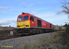 Eastleigh 60054 (davidhann34016) Tags: 60054 class60 eastleigh 6v52